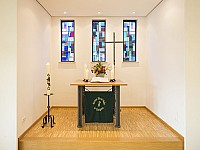 Martin Luther Kirche innen